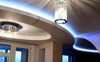 Как сделать диодную подсветку потолка