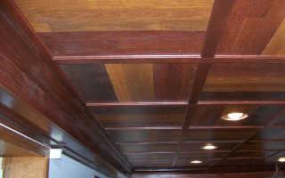 Как закрепить ламинат на потолке