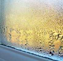 Как избежать конденсата на окнах