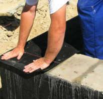 Как класть первый венец бруса на фундамент