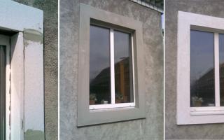 Как делать откосы на окнах из пенопласта