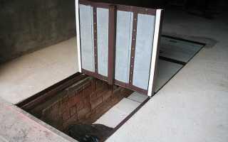Как утеплить овощную яму в гараже