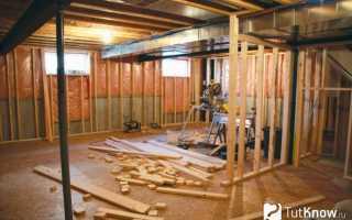 Баня в подвале дома как построить