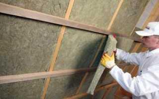 Как утеплить мансардный этаж в деревянном доме
