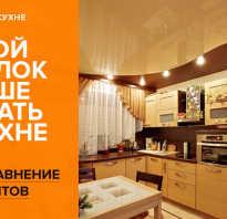 Потолок в кухне какой лучше сделать
