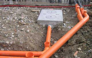 Как утеплить канализационную трубу в земле