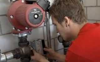 Как разобрать водяной насос отопления