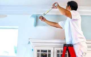 Как правильно покрасить стены водоэмульсионной краской