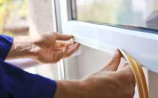 Как уплотнить пластиковые окна на зиму