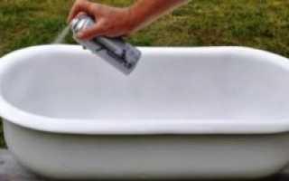 Можно ли покрасить ванну автомобильной краской