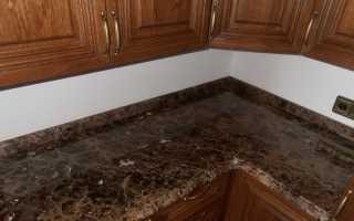 Плинтус для столешницы на кухне как установить