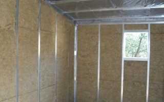 Как утеплить стены в гараже изнутри