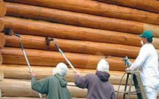 Как правильно покрасить деревянный дом снаружи