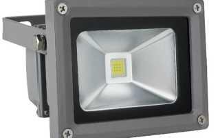 Почему мигает светодиодный прожектор во включенном состоянии