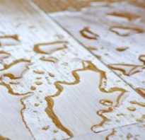 Как высушить ламинат после потопа