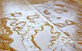 Как восстановить ламинат после потопа