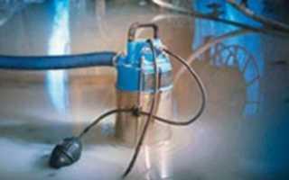 Как выкачать воду из подвала без насоса