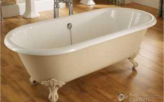 Как закрепить акриловую ванну чтобы не качалась