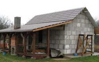 Блоки для строительства бани какие лучше
