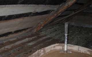 Глина с опилками как утеплитель на потолок