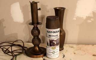 Как развести бронзовую пудру для покраски