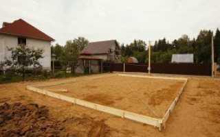 Какой песок нужен для подушки фундамента