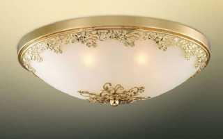 Как сделать точечный свет на потолке