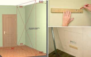 Как крепить навесные шкафы к гипсокартону