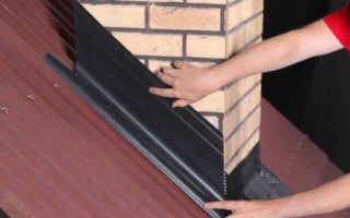 Как обделать трубу на крыше профнастилом