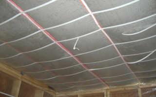 Как сделать потолок в погребе
