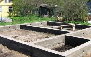 Как делать ленточный фундамент под дом
