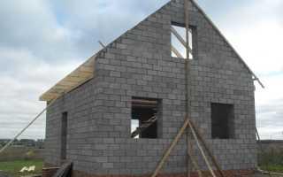 Какой фундамент лучше для дома из керамзитоблоков