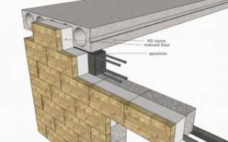Как правильно укладывать плиты перекрытия на фундамент