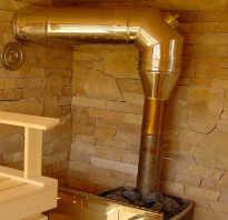 Как вывести трубу из бани через стену