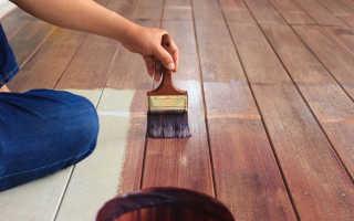 Как красить полы из дерева