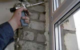 Как очистить пластиковые окна от монтажной пены
