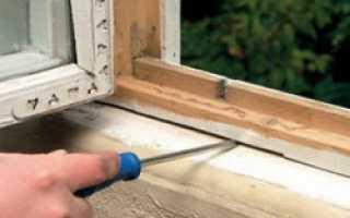Чем замазать щели в пластиковых окнах