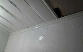 Как крепить потолочный плинтус для пластиковых панелей