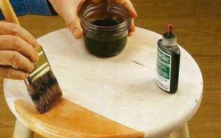 Как красить морилкой дерево