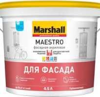 Можно ли красить фасадной краской внутри помещения