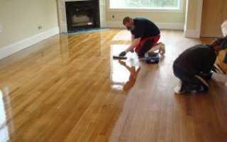 Как отреставрировать ламинат в домашних условиях