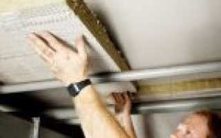 Как утеплить деревянный пол снизу из подвала
