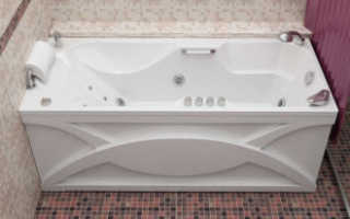 Как закрепить экран на акриловую ванну