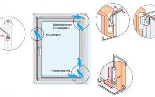 Как поднять створку пластикового окна