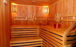 Как отделать парную в деревянной бане
