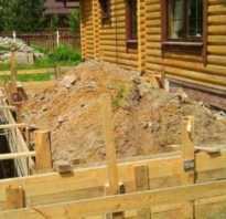 Как залить фундамент для пристройки к дому