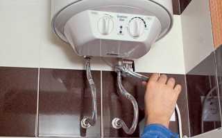 Как повесить водонагреватель на деревянную стену