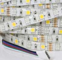 Какой ток потребляет светодиодная лента