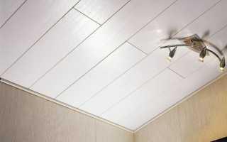 МДФ панели для потолка в деревянном доме