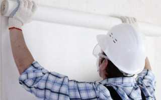 Как клеить стеклообои под покраску на стены
